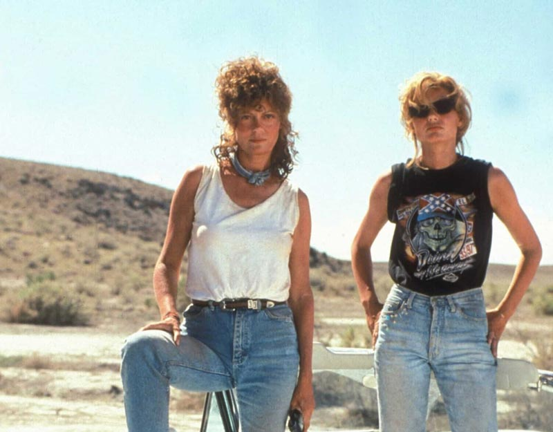 Film on the road: Thelma e Louise