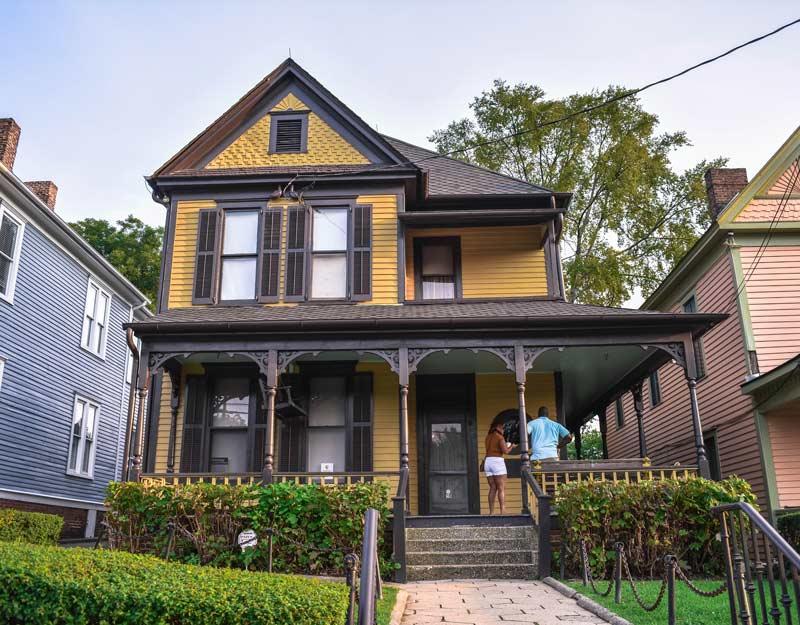 Casa natale di MLK ad Atlanta