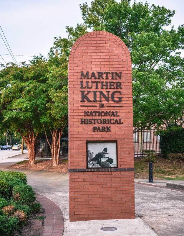 Martin Luther King Historical Park ad Atlanta