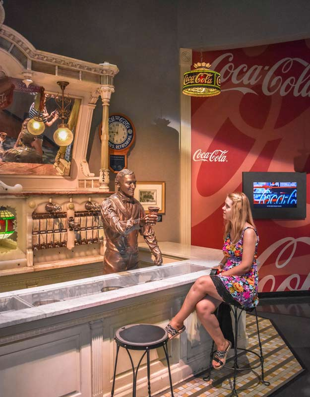 Visitare il World of Coca Cola ad Atlanta