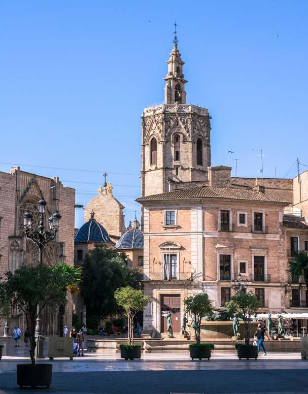Il centro di Valencia