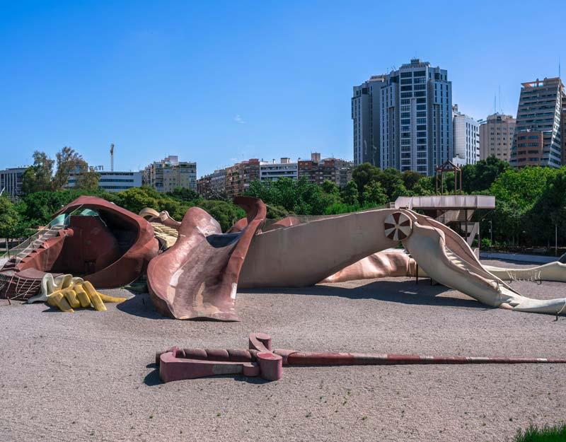 Parco di Gulliver a Valencia