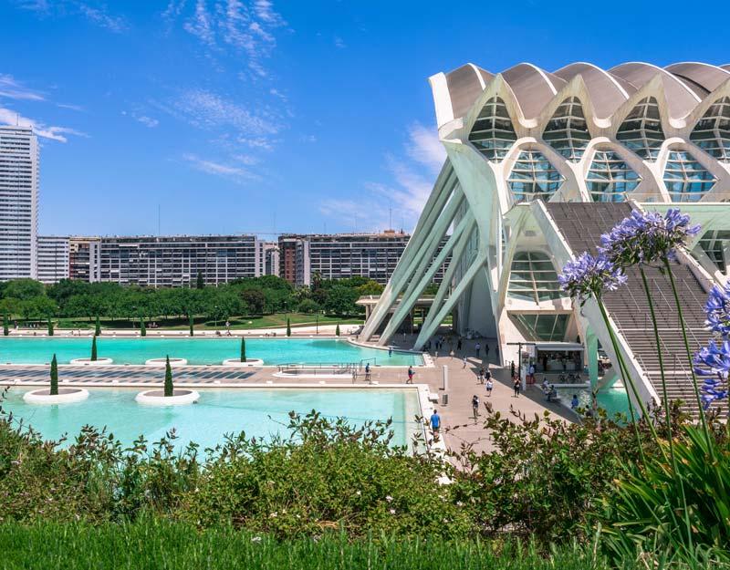 Valencia da vedere: Citta delle arti e delle scienze