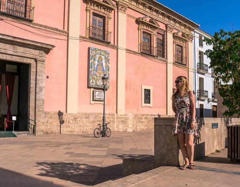 Visitare il centro di Valencia